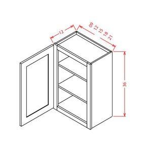 36-SINGLE-DOOR-WALL